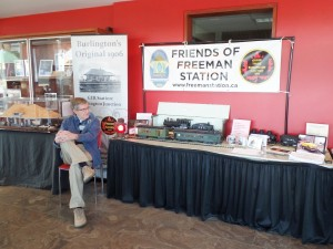 Heritage Burlington display 2-6-2016